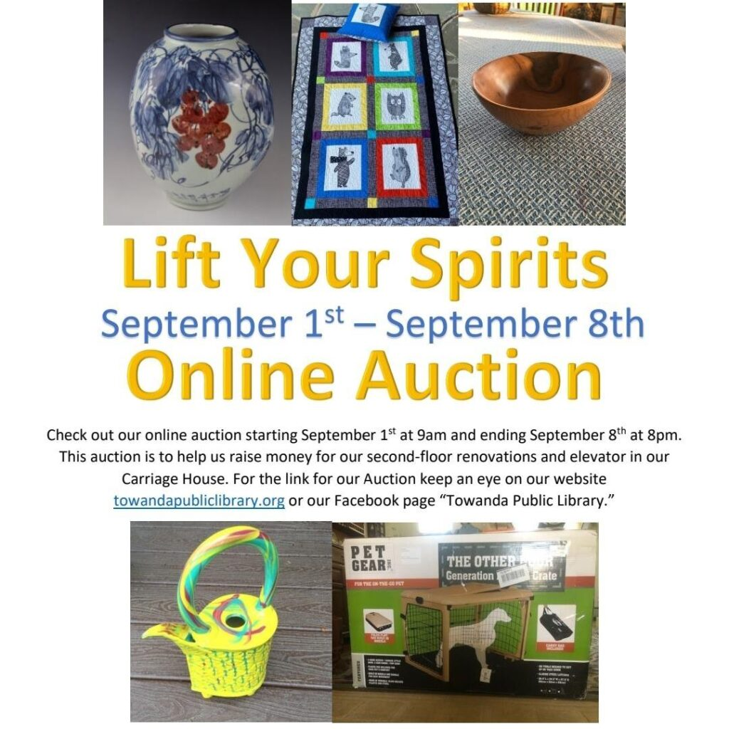 lift your spirits online auction